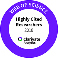 Web of Science Highly Cited Researcher for 2018